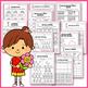 Spring Math and Literacy, Spring Activities Kindergarten BUNDLE