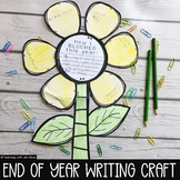 End of Year Spring Reflection Craftivity