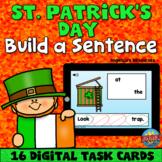 St. Patrick's Day Sentence Scramble Boom Cards™ - Unscramb