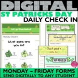 St Patricks Day Daily Check In