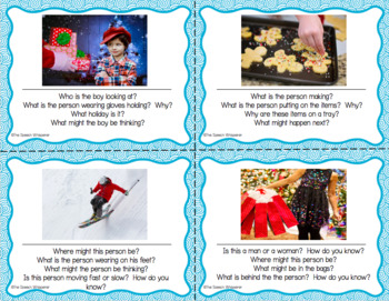 #hotwinter Inferencing Task Cards: Winter Edition