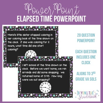 Elapsed Time Practice Powerpoint