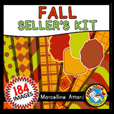 FALL CLIPART PACK (AUTUMN SELLER'S KIT OR FALL SELLER'S KI