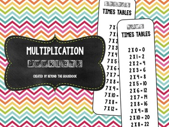 Multiplication Booklets