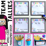Behavior Management System for the Whole Class - Table Tallies