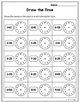 Telling Time Clock Posters, Telling Time Clock Labels Fruits