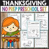 November Preschool Thanksgiving Math Worksheet Activities Disguise a Turkey