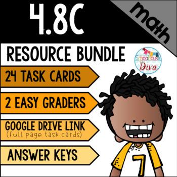 Converting Units of Measurement Word Problems - 4.8C Math TEKS Resource Bundle