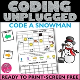 Unplugged Coding Winter HOUR OF CODE
