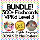 50% OFF VIPKid NMC MC Level 3 Real Photo Vocabulary Flashcards Props Mini Poster