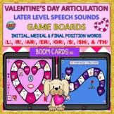 BOOM CARDS™ Valentine's Games: /L/, /R/, /AR/, /ER/, /OR/,