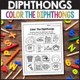 Vowel Diphthongs oi, oy, ou, ow - Dipthongs Worksheets