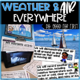 Weather & Air Everywhere- Vocabulary, Graph, Writing, Real World QR Code Hunt