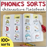 Word Work Sorts Interactive Notebook