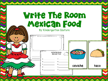 Mexican Food Write The Room