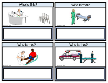 Health Task Cards for Special Education