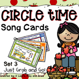 Circle Time Fall Songs, Finger Plays and Nursery Rhymes - Set 3