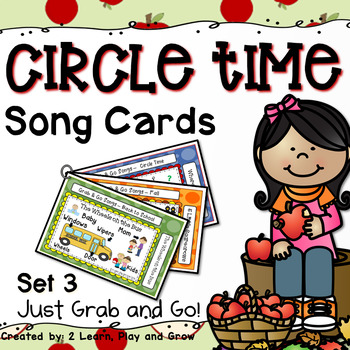 Songs, Fingerplays, and Nursery Rhyme Cards (Apples, Fall