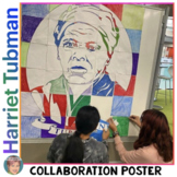Harriet Tubman Collaboration Portrait Poster: Great Black History Month Activity