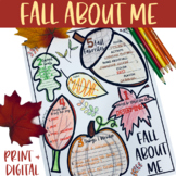 All About Me Fall Themed for Secondary Students