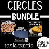 Circles Task Card Bundle