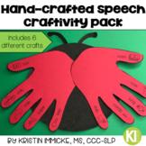 Hand-Crafted Speech Craftivity Pack