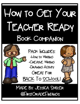 How to Get Your Teacher Ready Book Companion Back to School Activities