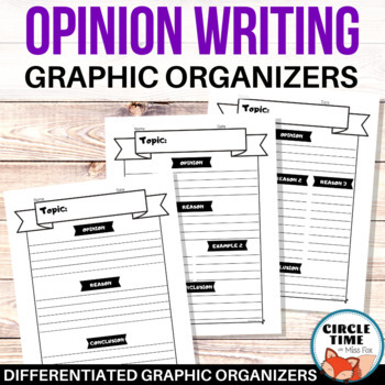 Persuasive Essay Graphic Organizers Opinion Writing Worksheets
