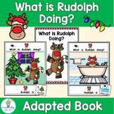 Rudolph Christmas Adapted Book PreK-2 SPED ELL