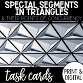 Special Segments in Triangles Task Cards with Google Form