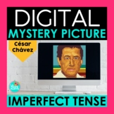 Imperfect Tense Digital Mystery Picture | Cesar Chavez