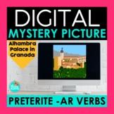 Preterite AR Verbs Digital Mystery Picture | Spanish Pixel Art