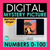 Spanish Numbers 0-100 Digital Mystery Picture   Mariachi S