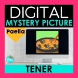 TENER Digital Mystery Picture   Paella Spanish Pixel Art