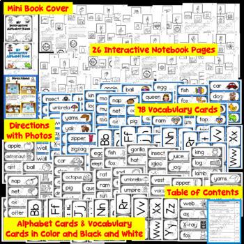 50% OFF for 24 Hours - Alphabet Activities Bundle - Interactive Notebook & More