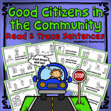 Citizenship: Being a Good Citizen in the Community - Sentence Tracing