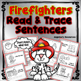 Fire Safety Activities: Sight Words, Sentence Tracing, Handwriting Worksheets
