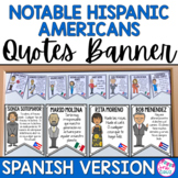 Hispanic Heritage Month Quotes SPANISH VERSION