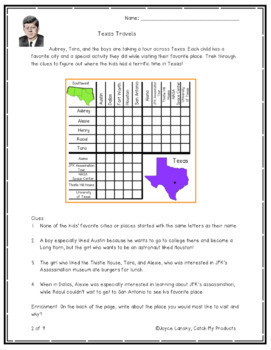Logic Puzzles 5th