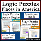 Digital Logic Puzzles | Print or Digital Worksheets