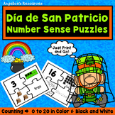 Spanish St. Patrick's Day Activitives: Dia de San Patricio -Spanish Numbers 1-20