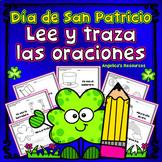 Spanish St. Patrick's Day Activitives: Dia de San Patricio Sentences in Spanish