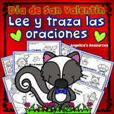 Spanish Valentine's Day Activitives: Dia de San Valentin - Sentences in Spanish