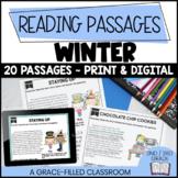 Fiction and Nonfiction Short Passages (Winter Themed)
