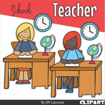 Teacher School ClipArt