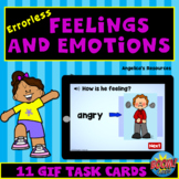 Errorless Feelings and Emotions Boom Cards™- GIF Images -ABA