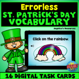 Errorless Learning St. Patrick's Day Boom Cards™  - ABA -