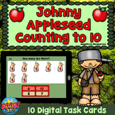Johnny Appleseed Counting to 10 Boom Cards™ Distance Learn