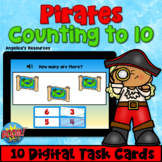 Pirates Counting to 10 Boom Cards™ Math Games - Digital Ta