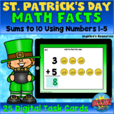 St. Patrick's Day Boom Cards™ - Math Games - Addition Math